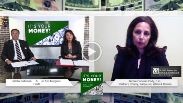 """Nicole Donoian-Pody interview on """"It's Your Money"""""""