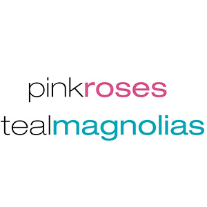 pink roses teal magnolias
